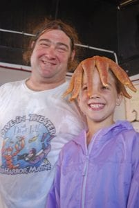 Diver Ed is guaranteed fun for all ages, especially if you like sea creatures on your head!