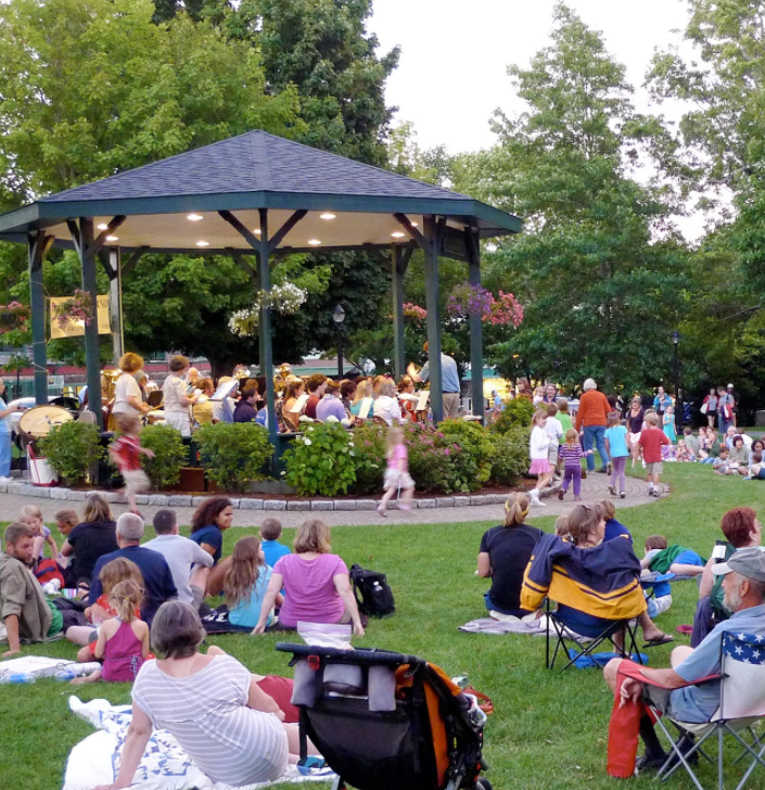 The Bar Harbor Town Band has talented musicians performing in the heart of Bar Harbor. Bring a picnic and stay for the show.